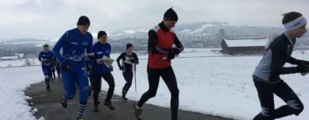 Langstrecken-OL durch den Schnee – Regiomila 2018