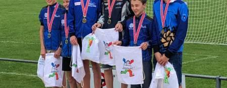 Sieg am Schweizerischen Schulsporttag