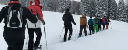Schneeschuhlaufen 2019