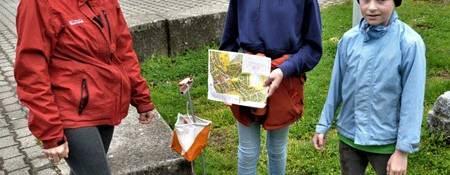 Tagblatt : Orientierungsläufer trotzen in Ettenhausen Regen und Kälte